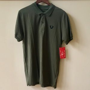 NWT True Religion polo shirt